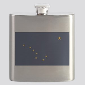 Flag of Alaska Flask