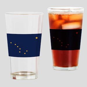 Flag of Alaska Drinking Glass