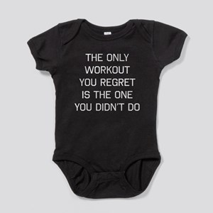 The only workout you regret Baby Bodysuit