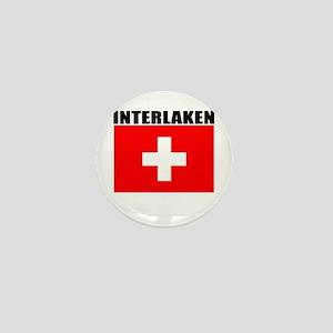 Interlaken, Switzerland Mini Button