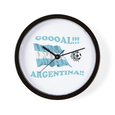 Goal Argentina Wall Clock