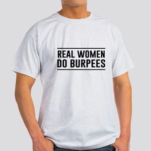 Real women do burpees T-Shirt