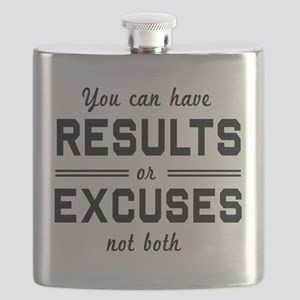 Results or excuses not both Flask