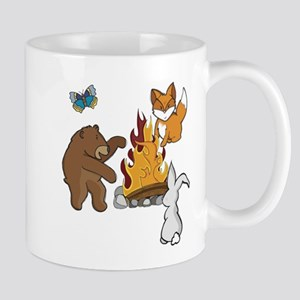 Camp Fire Animals Mugs