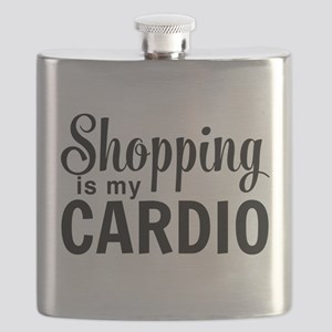 Shopping is my cardio Flask