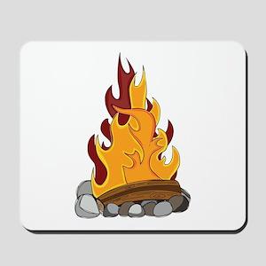 Camp Fire Mousepad