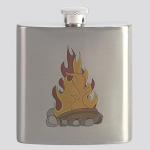 Camp Fire Flask