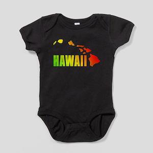Hawaiian Islands Baby Bodysuit