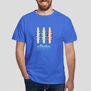 Aloha - Hawaii Surfboards Dark T-Shirt