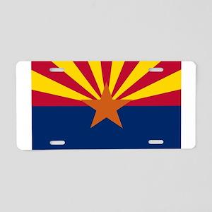 Flag Of Arizona Aluminum License Plate