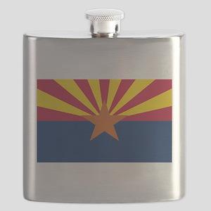 Flag Of Arizona Flask