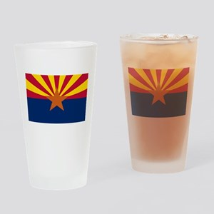 Flag Of Arizona Drinking Glass