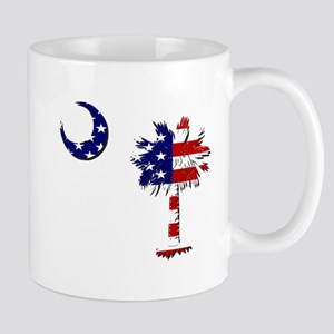 Red White and Blue Palmetto Mug