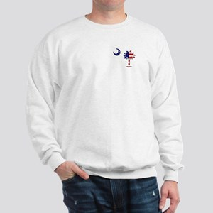 Red White and Blue Palmetto Sweatshirt