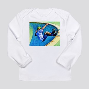 Skateboarding in the Bow Long Sleeve T-Shirt