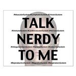 Talk Nerdy To Me Posters