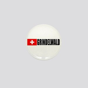 Grindelwald, Switzerland Mini Button