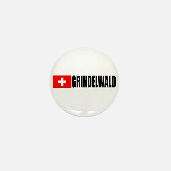 Grindelwald, Switzerland Mini Button