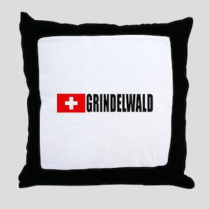 Grindelwald, Switzerland Throw Pillow