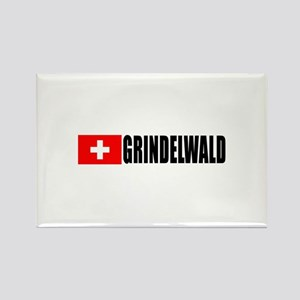 Grindelwald, Switzerland Rectangle Magnet