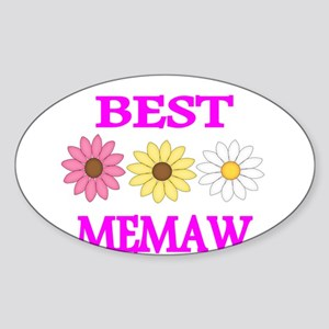 Best Memaw Sticker
