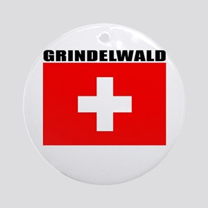Grindelwald, Switzerland Ornament (Round)