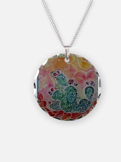 Cactus, Southwest art! Necklace