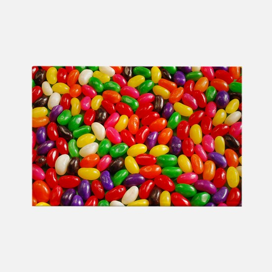 Colorful jellybeans Magnets