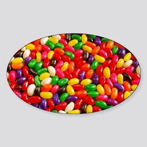 Colorful jellybeans Sticker