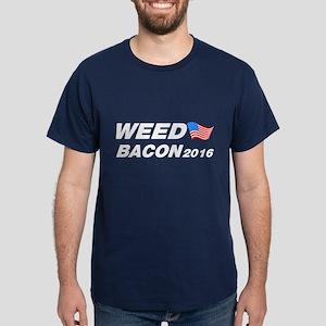 Weed Bacon 2016 Dark T-Shirt