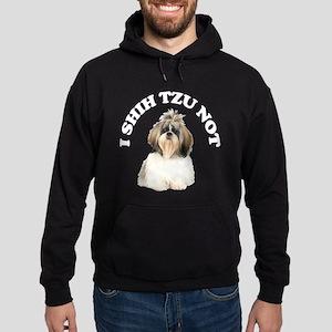 I Shih Tzu Not Hoodie (dark)