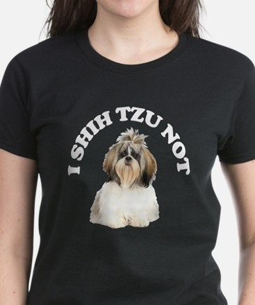 I Shih Tzu Not Women's Dark T-Shirt