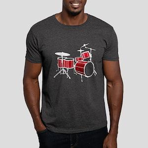 Cool Drum Set - Drummer Dark T-Shirt