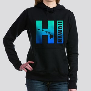 HI - Hawaii Islands Women's Hooded Sweatshirt