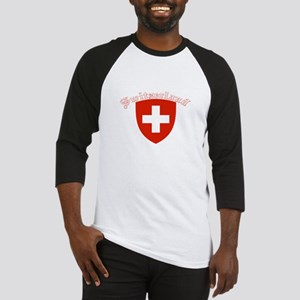 Switzerland Coat of Arms Baseball Jersey