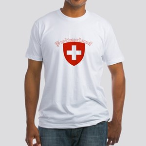 Switzerland Coat of Arms Fitted T-Shirt