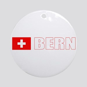 Bern, Switzerland Ornament (Round)