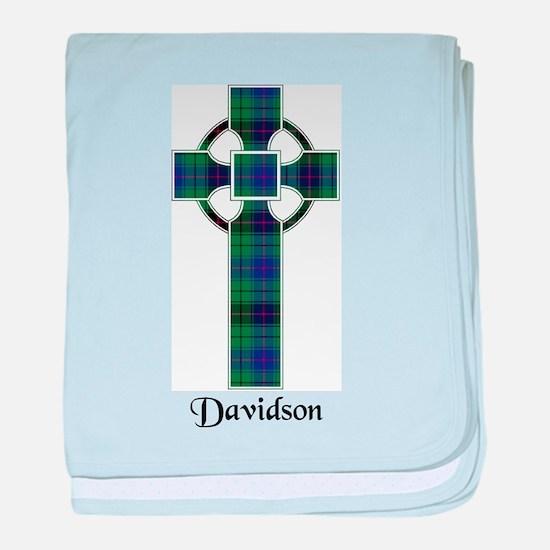 Cross - Davidson baby blanket