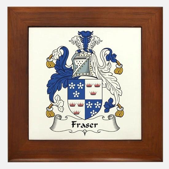 Fraser (of Lovat) Framed Tile
