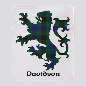 Lion - Davidson Throw Blanket
