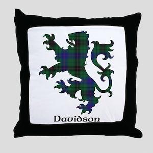 Lion - Davidson Throw Pillow
