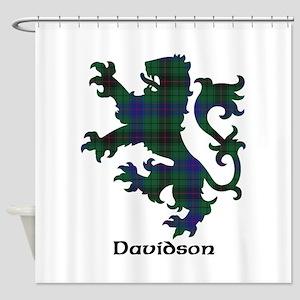 Lion - Davidson Shower Curtain