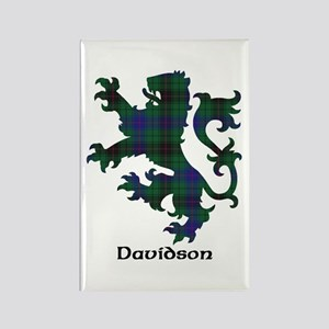 Lion - Davidson Rectangle Magnet