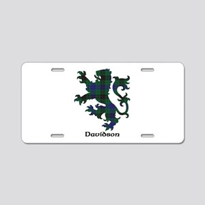 Lion - Davidson Aluminum License Plate