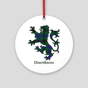 Lion - Davidson Ornament (Round)