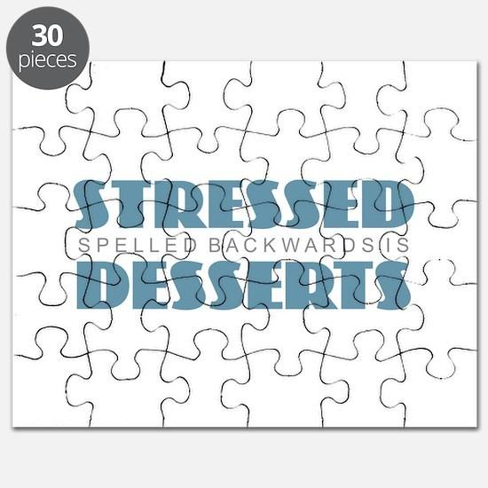 Stressed is Desserts Puzzle