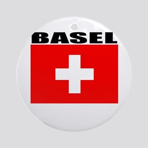 Basel, Switzerland Ornament (Round)