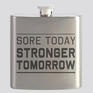 Sore today stronger tomorrow Flask