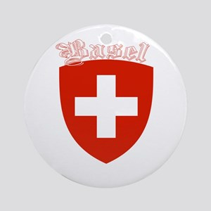 Basel, Switzerland Ornament (Round)