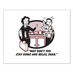 Humorous gifts for mom & dad Small Poster